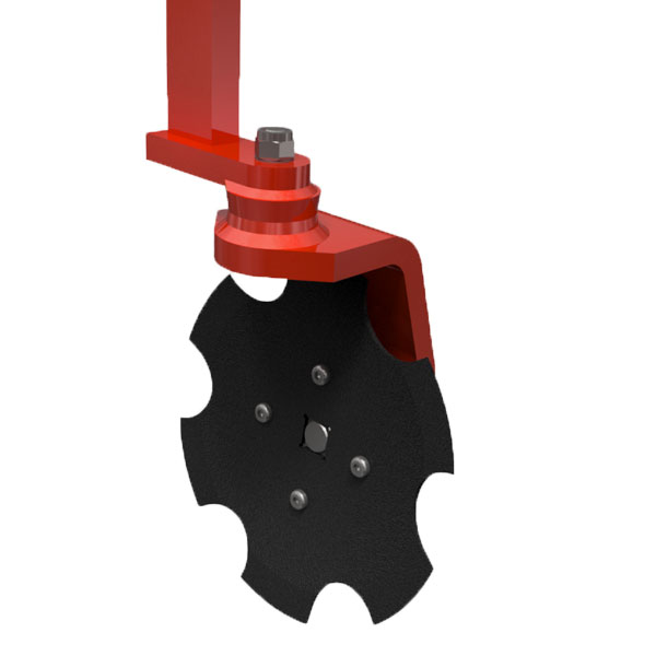 Serrated disc plough