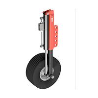 Coppia di ruote con regolazione idraulica (in sostituzione)