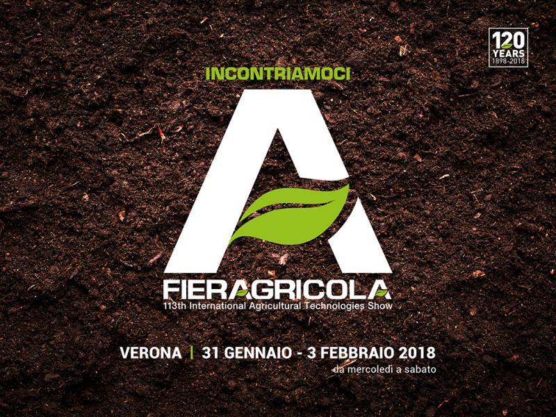 Vieni a trovarci a Fieragricola Verona - PAD. 5 | STAND F5