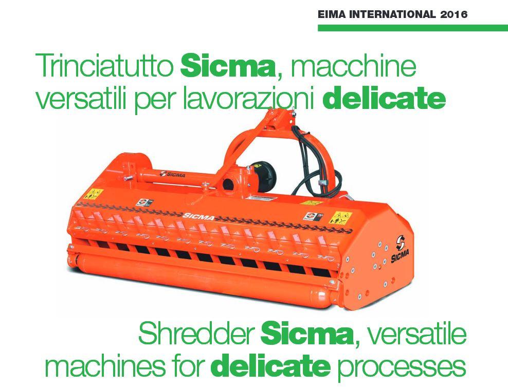 Nuovi trinciatutto Sicma TSN-Q e SL-Q, macchine versatili per lavorazioni delicate