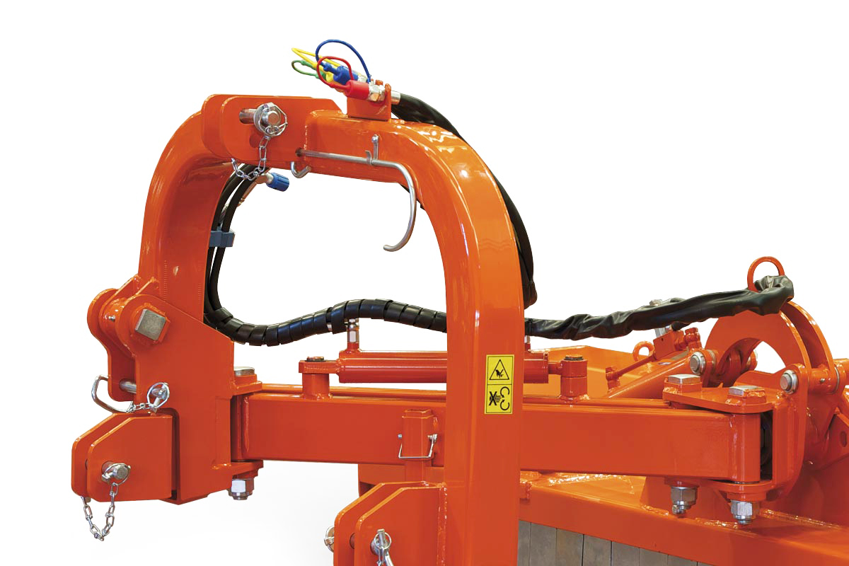 Finish mowers MP Shifting, for roadside banks, heavy Side