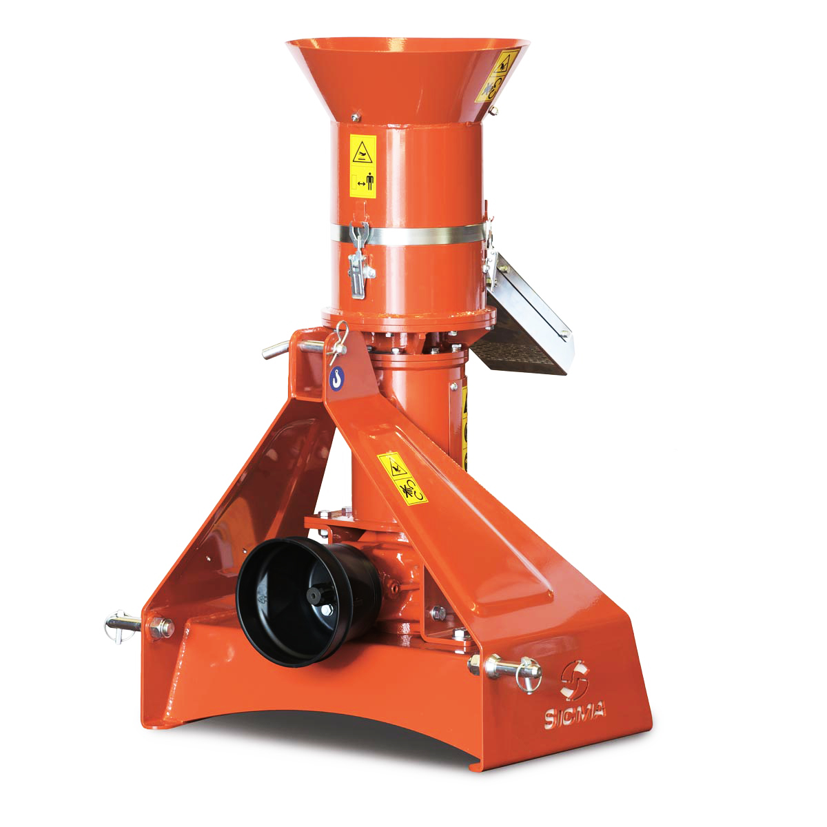 Pellet Machine with PTO, perfectly suitable with SICMA EC100 and EC100 HY wood chippers